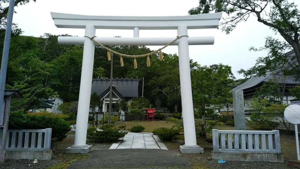 霧多布神社の鳥居