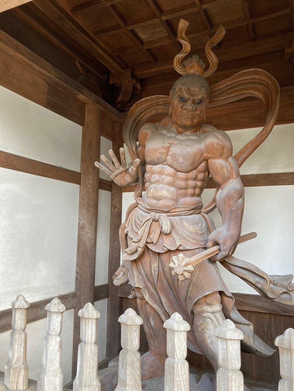 小川寺の像