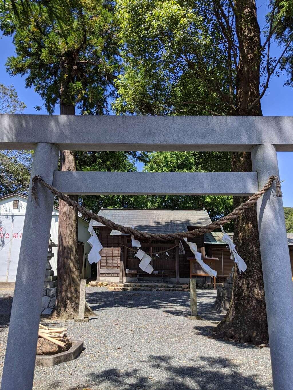 三嶋神社の鳥居