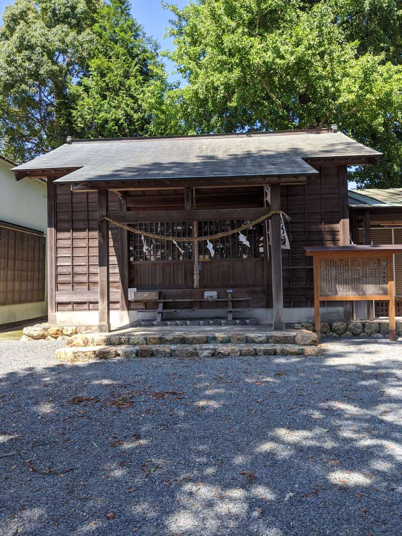 三嶋神社の本殿