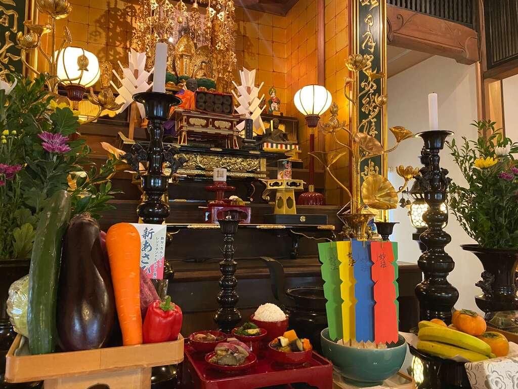日蓮宗 安楽寺のお祭り