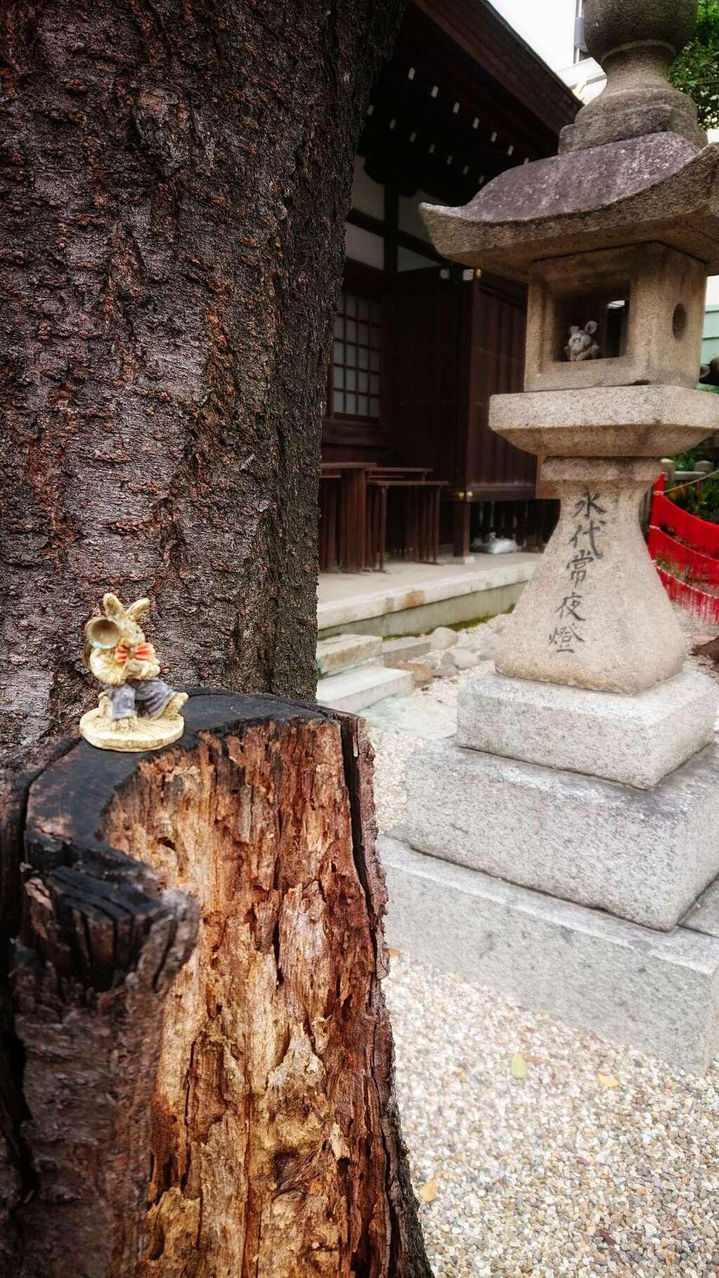 三輪神社の景色
