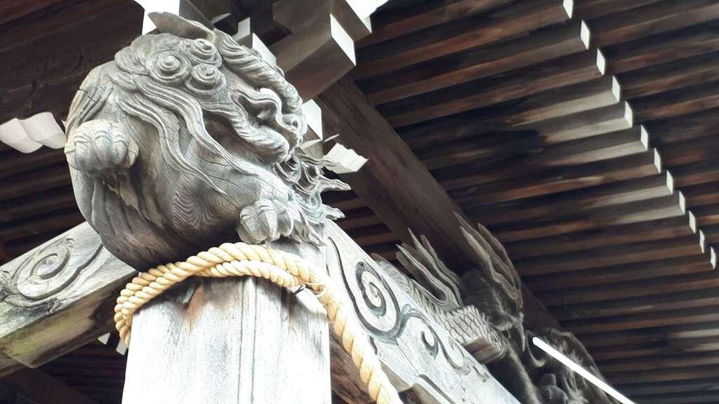 伊達神社の芸術