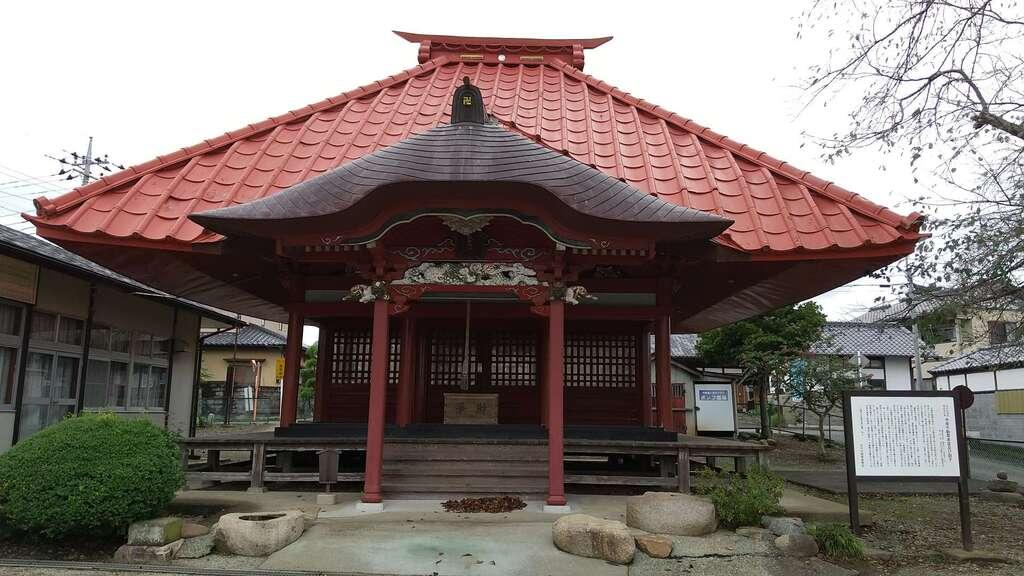 中原不動尊の本殿