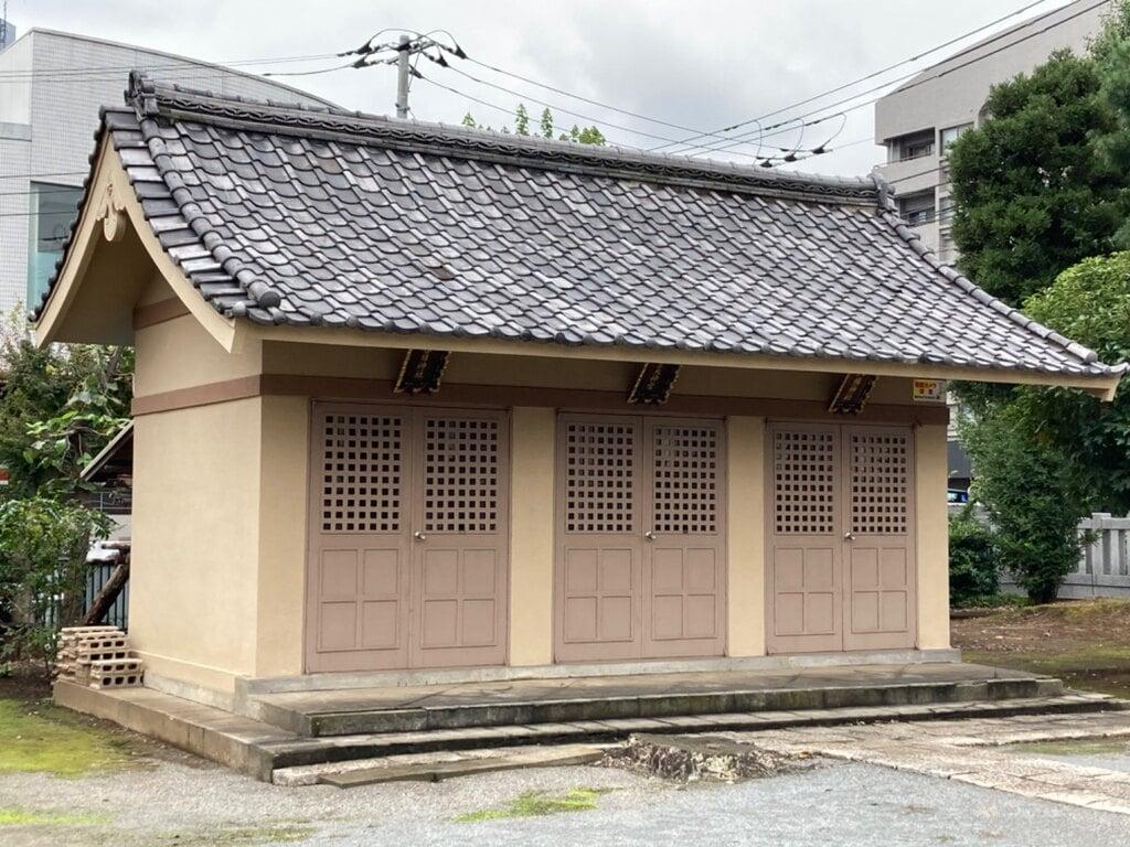 谷原氷川神社の末社