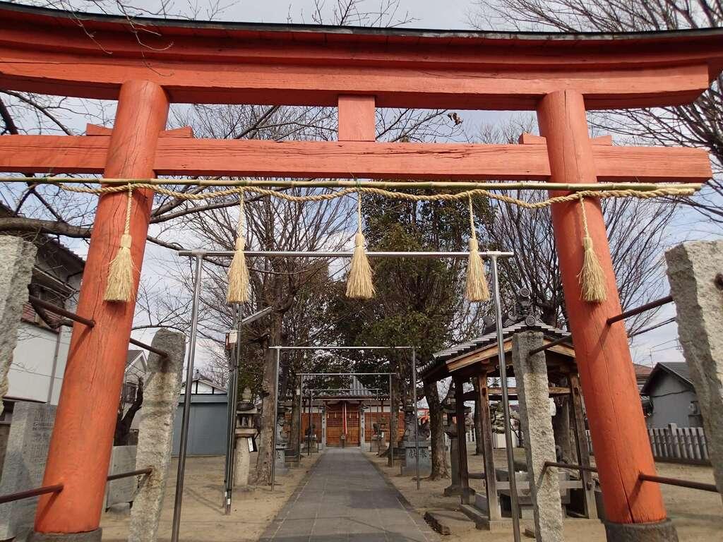 志貴縣主神社の鳥居