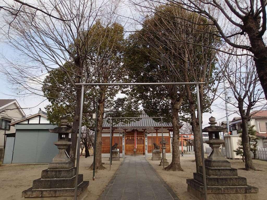 志貴縣主神社の本殿