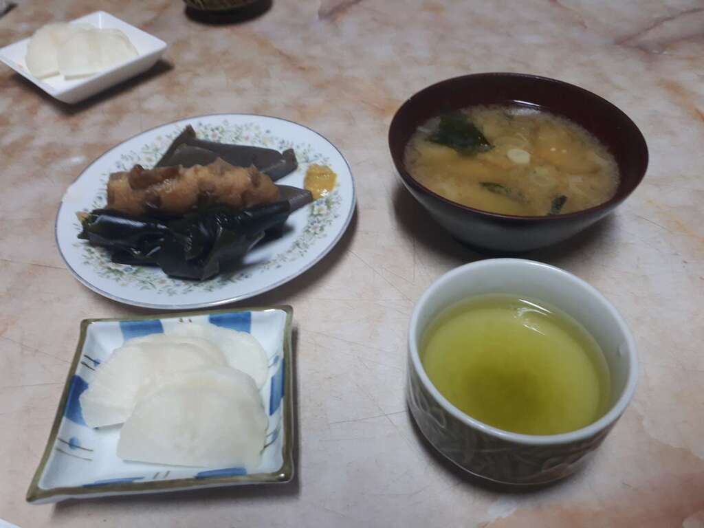 蓮久寺の食事