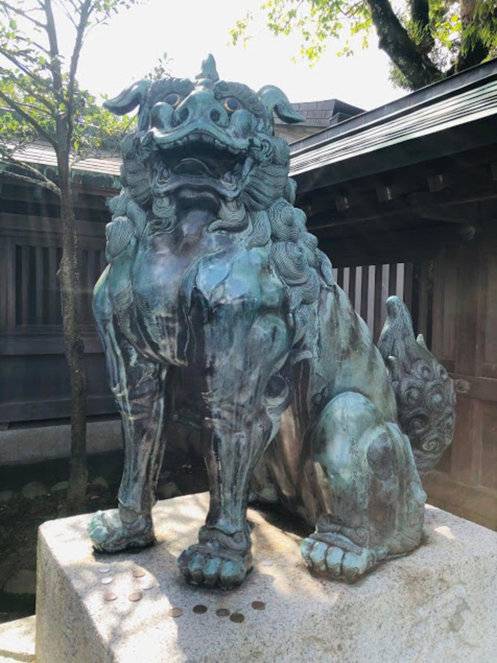 宗像大社の狛犬