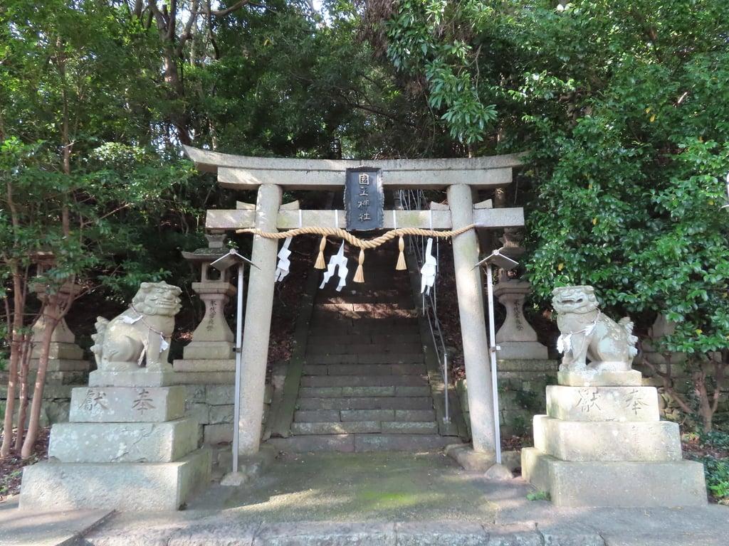 国玉神社の鳥居