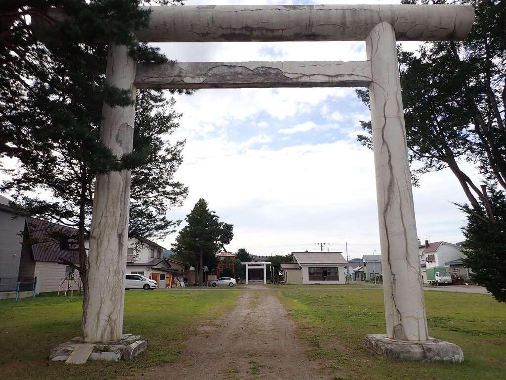 津別神社の鳥居