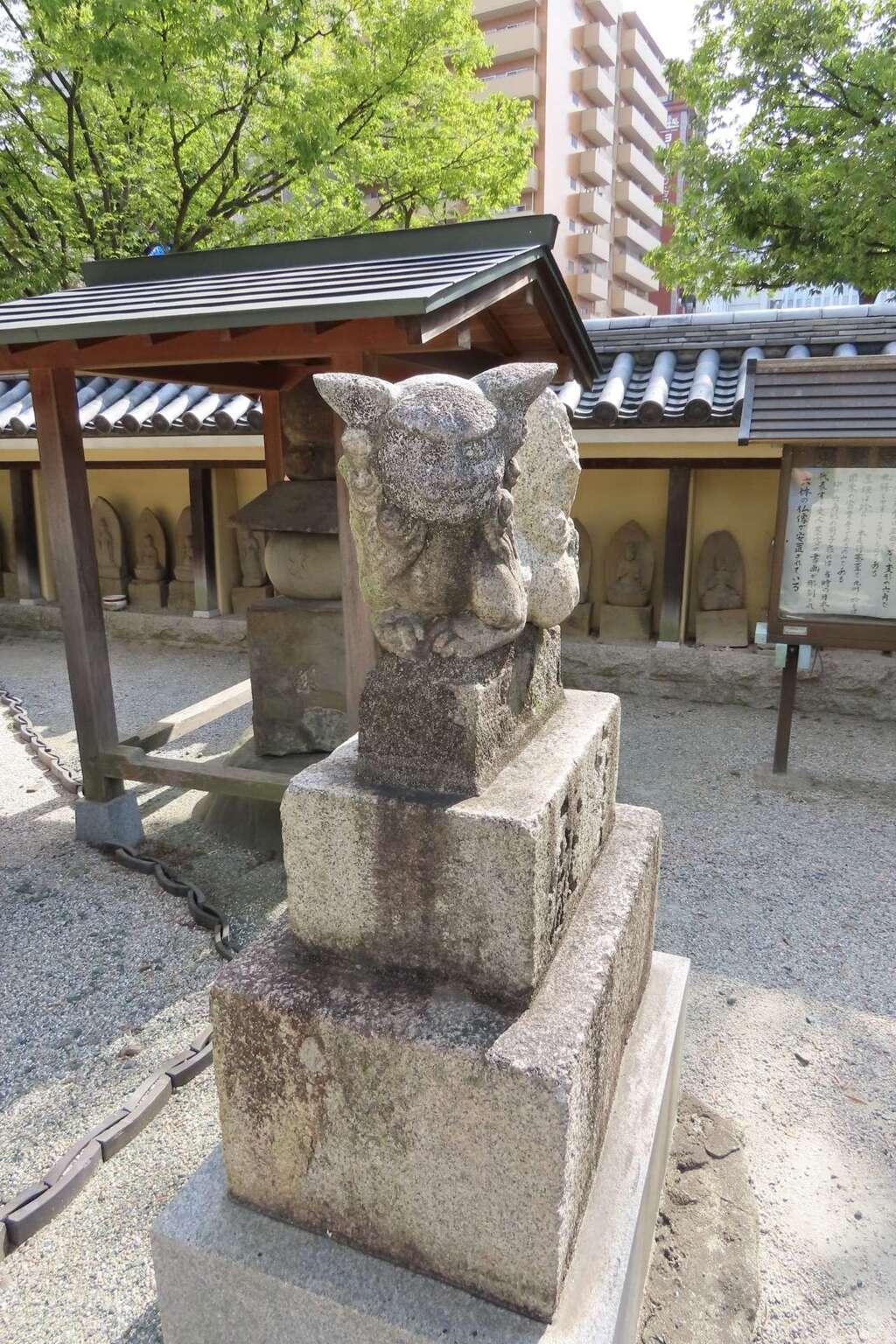 東長寺の狛犬