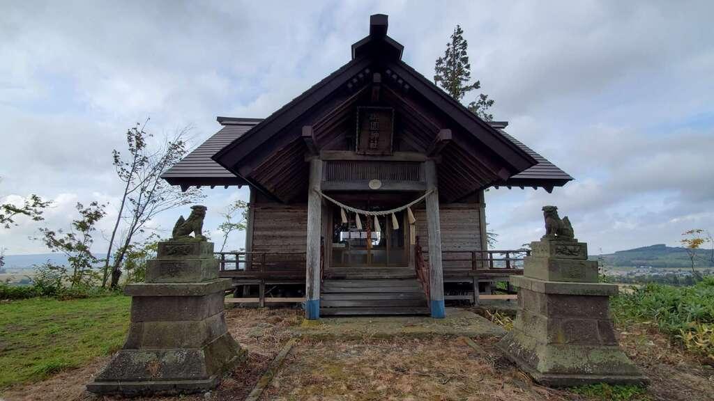 御園神社の本殿