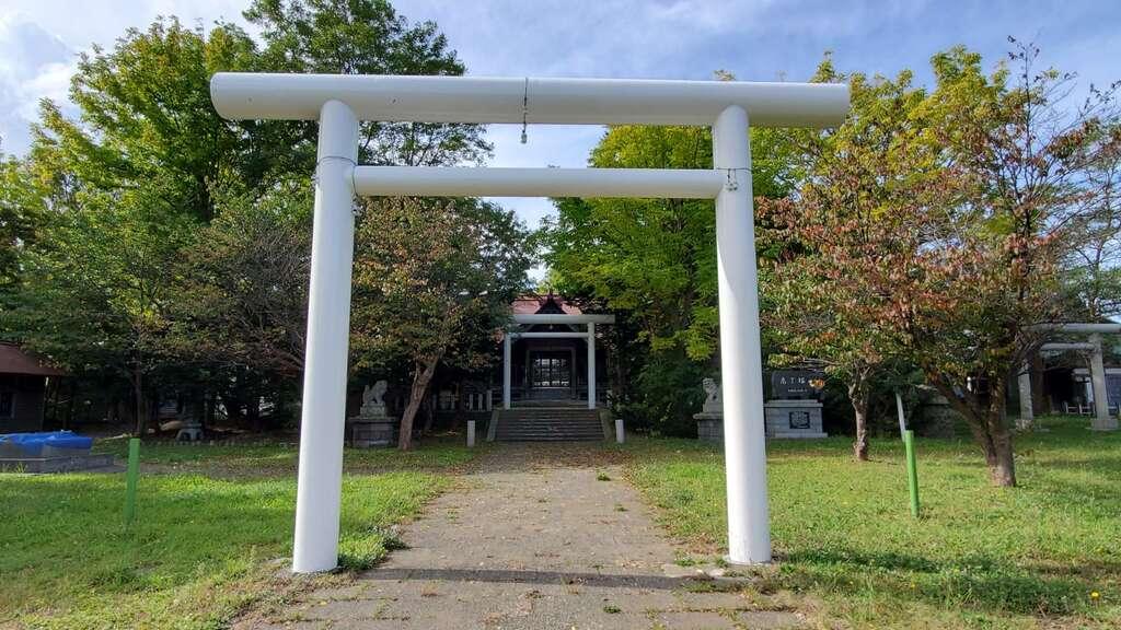 留萌神社の鳥居