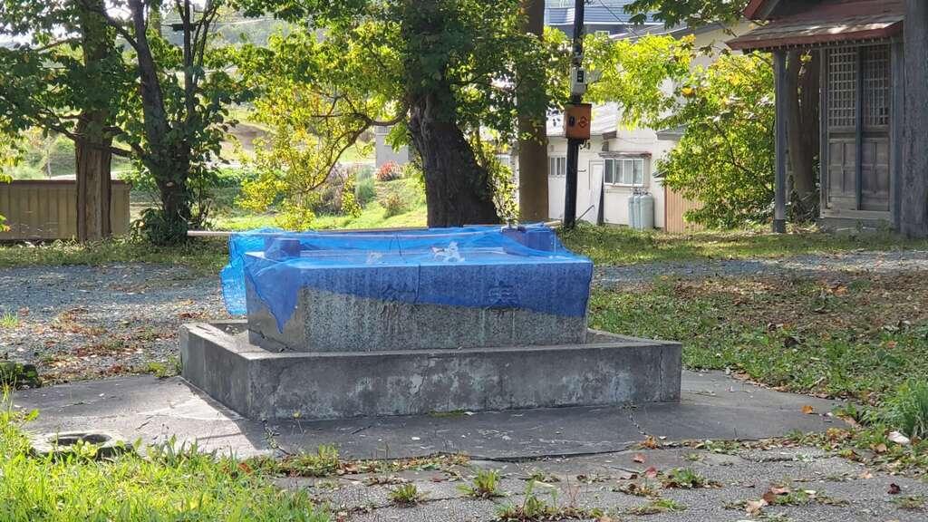 留萌神社の手水