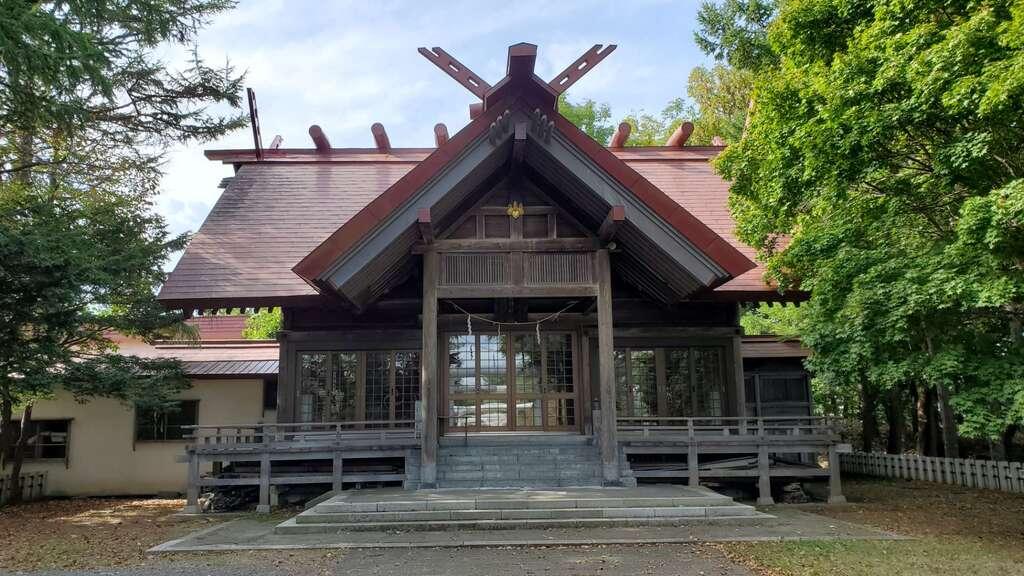留萌神社の本殿