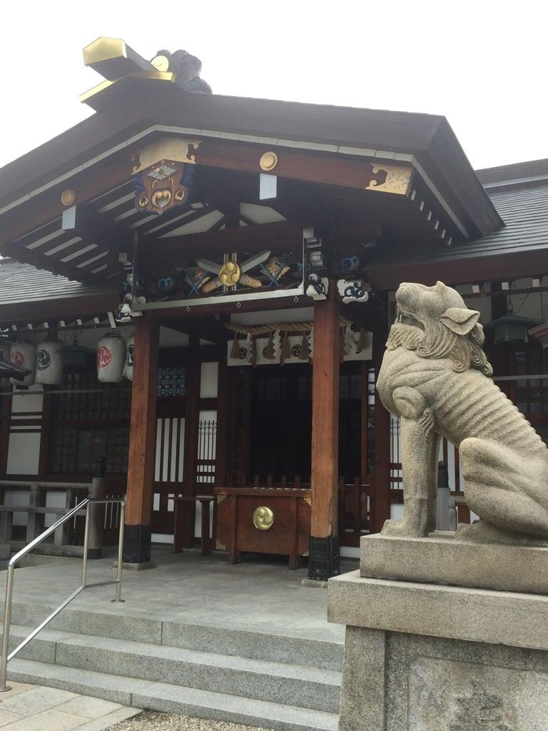 三社神社の狛犬