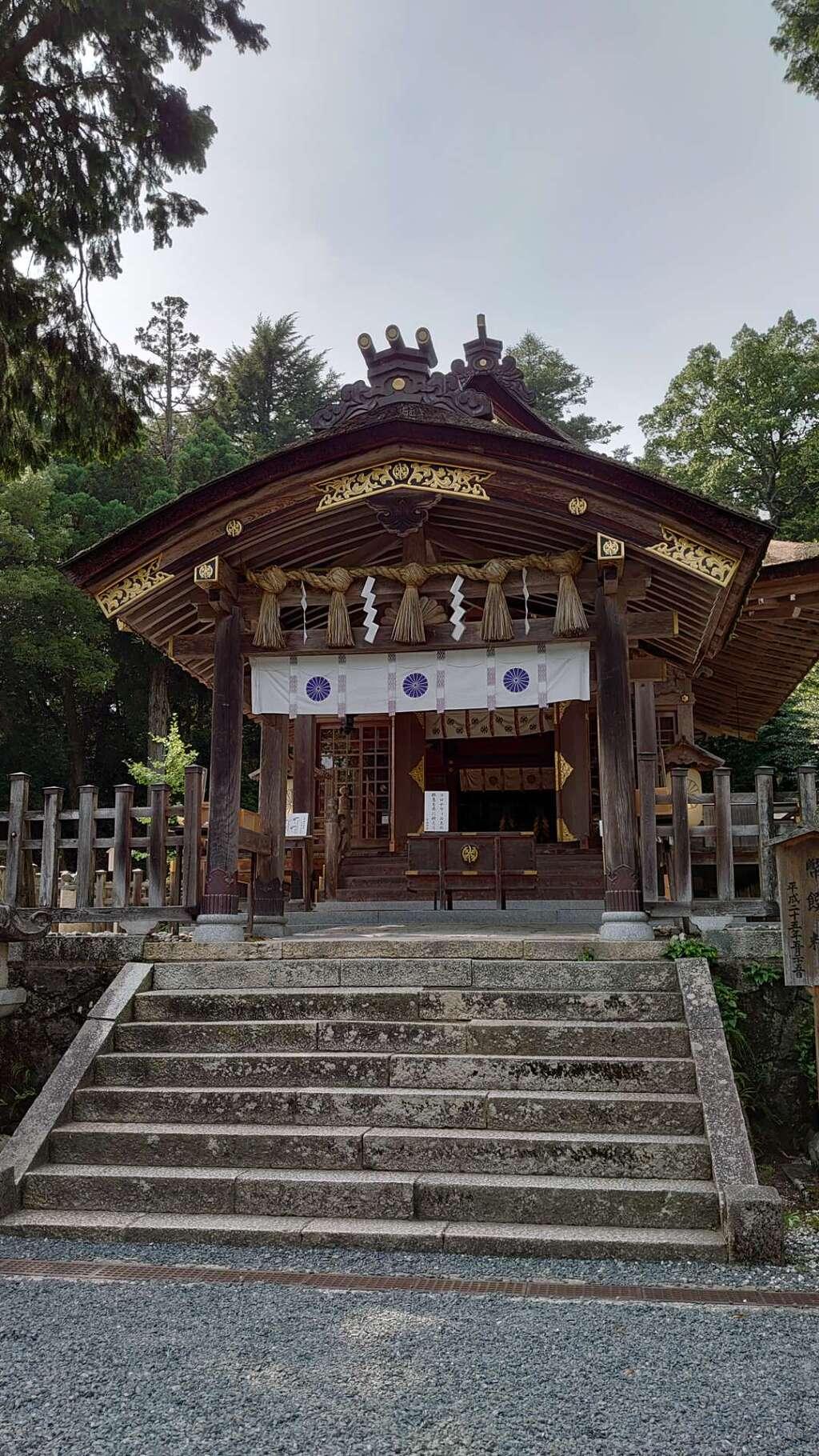 宇倍神社の本殿