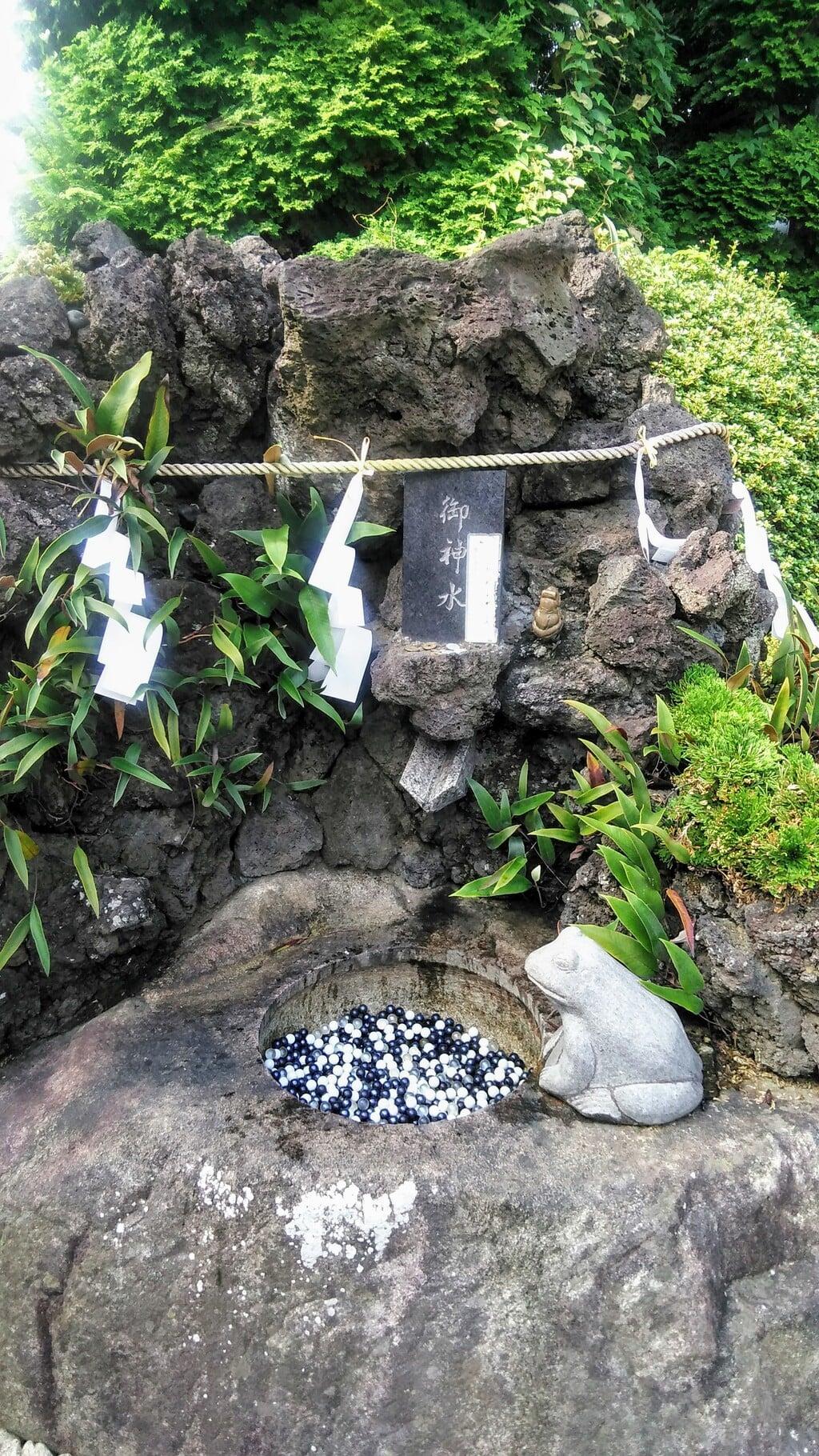 水宮神社の手水