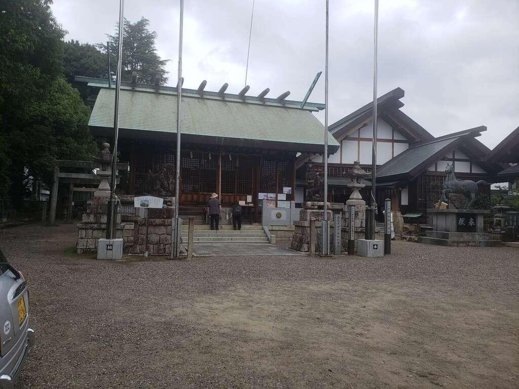 御井神社の末社