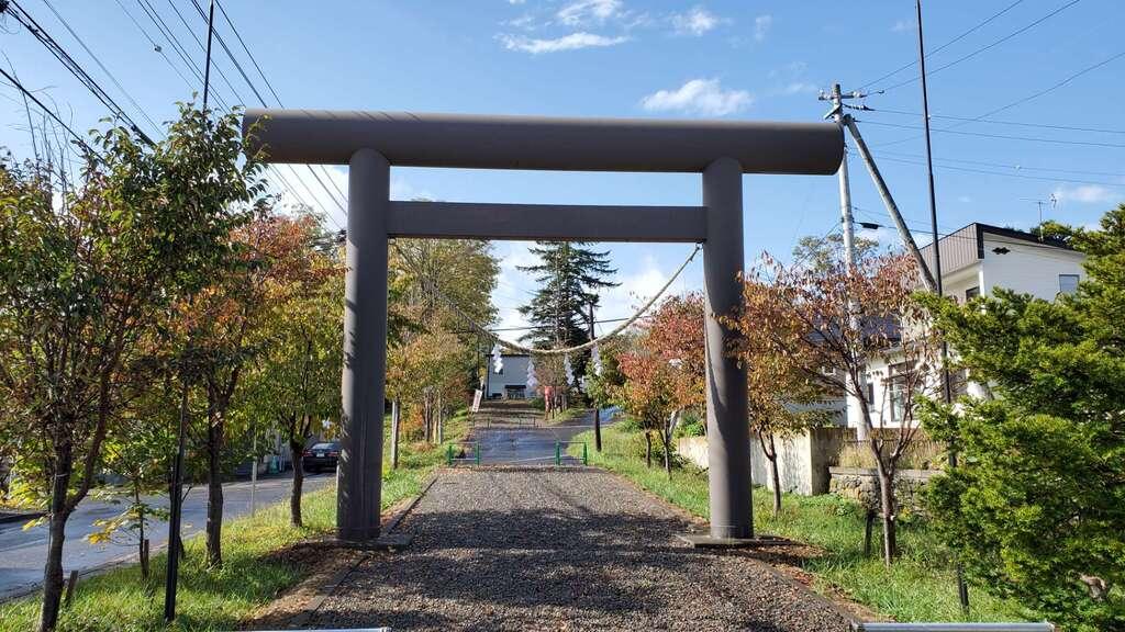 雄武神社の鳥居