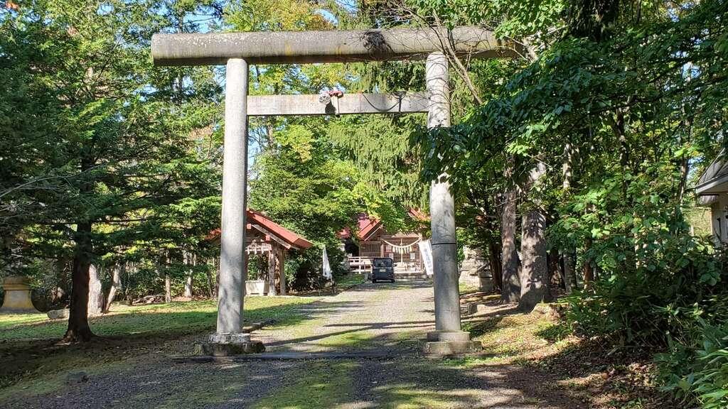 興部神社の鳥居