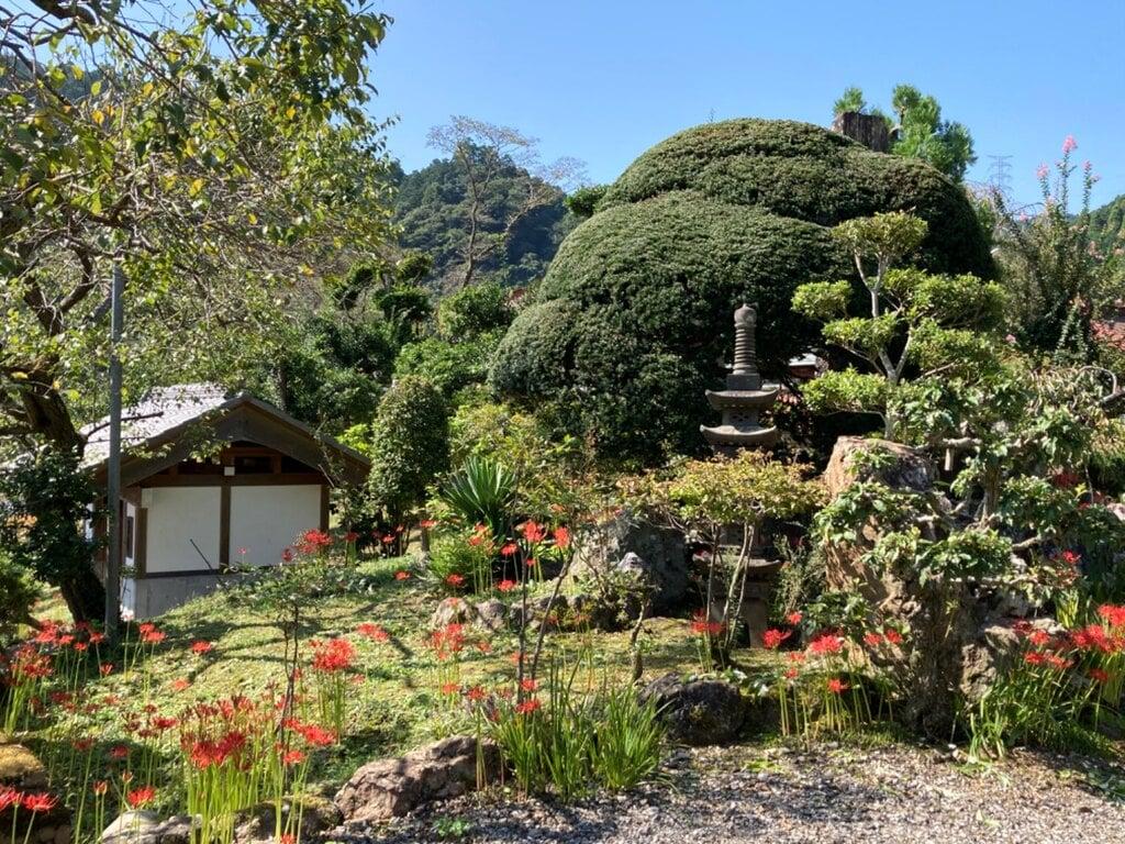 長念寺の庭園