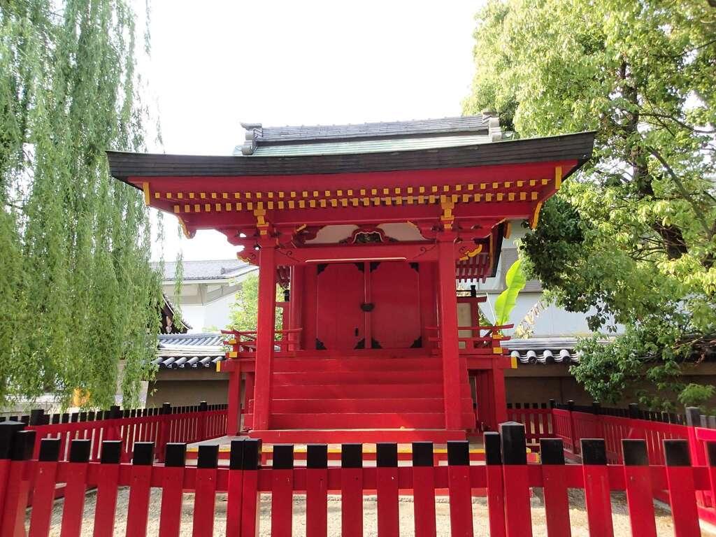 守屋祠(四天王寺境内社)の本殿