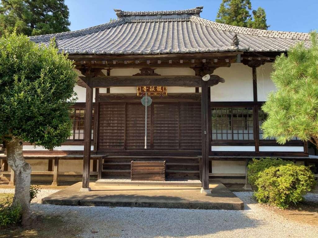 龍泉寺の本殿