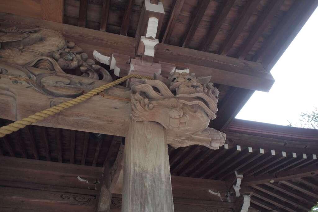 相馬神社の本殿