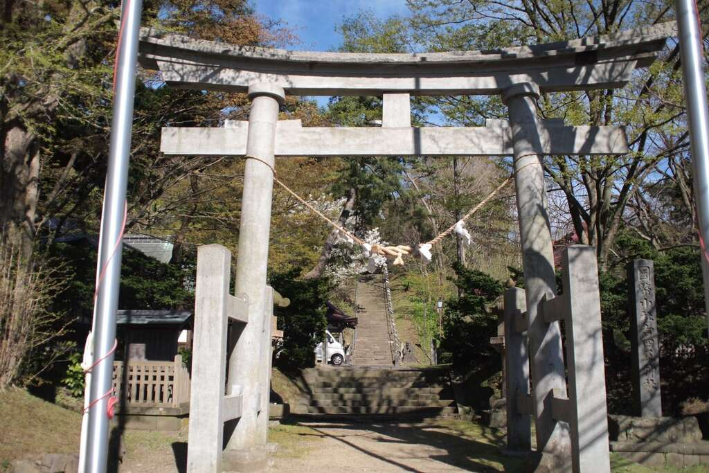 古四王神社の鳥居