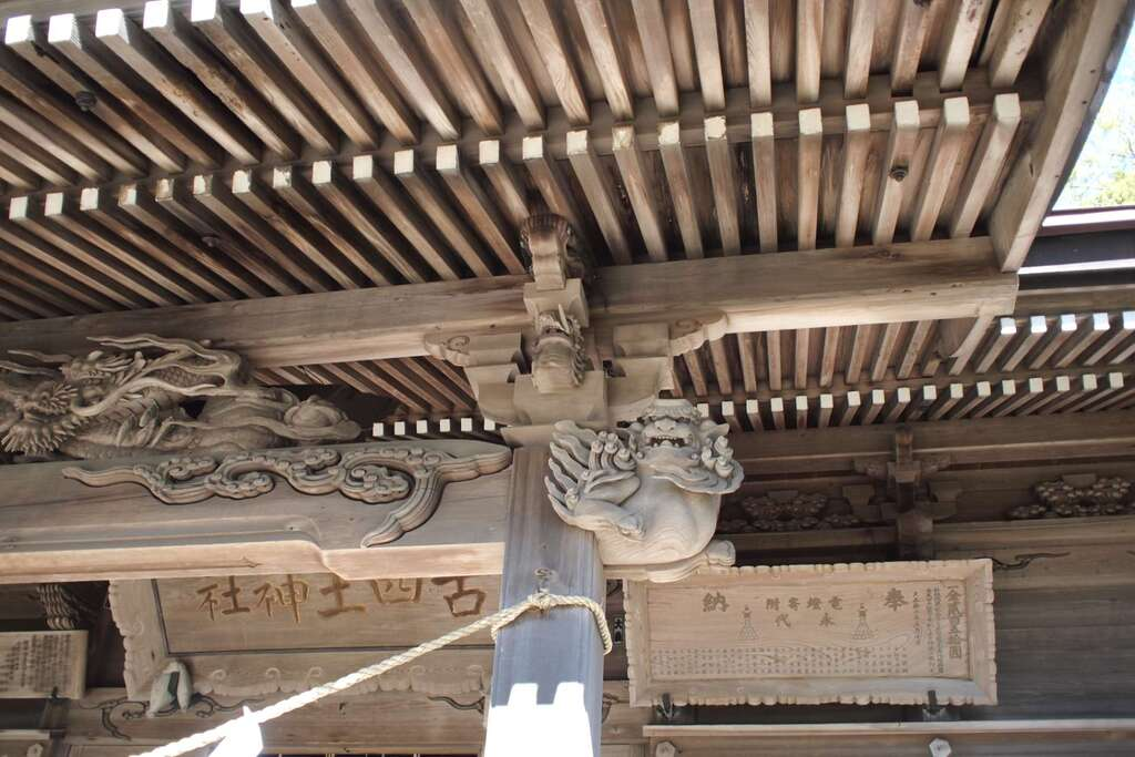 古四王神社の芸術