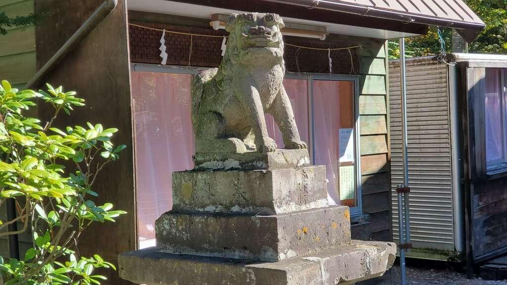 大正神社の狛犬