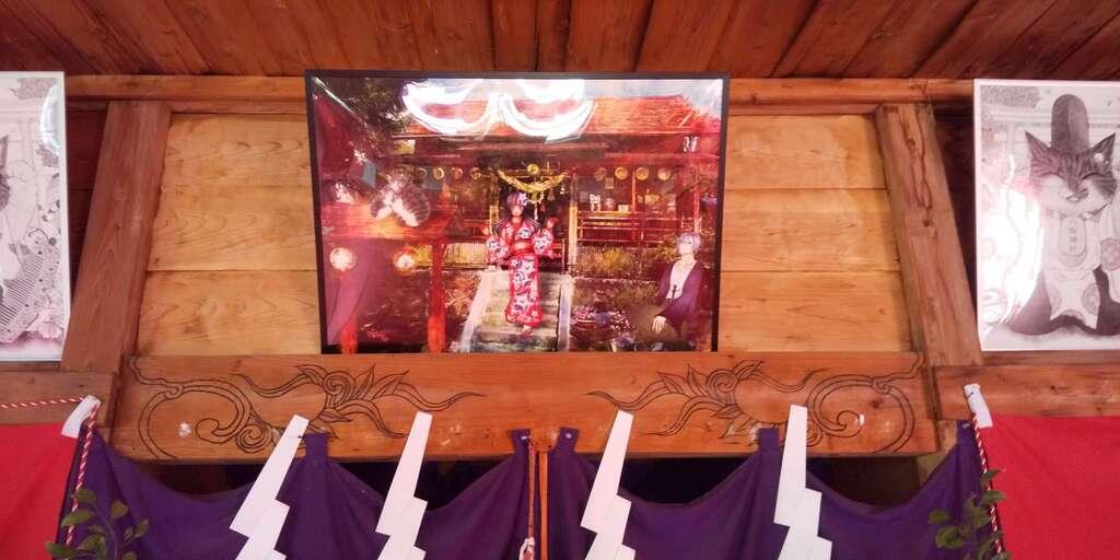 鹿角八坂神社の建物その他