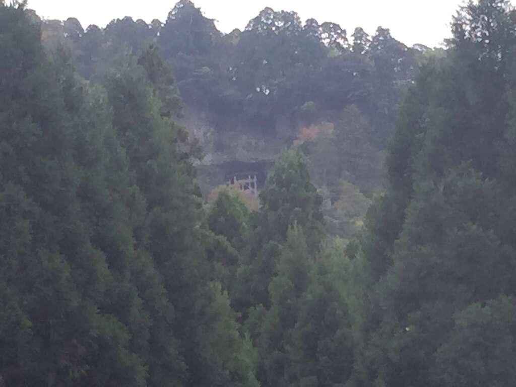 三佛寺の景色