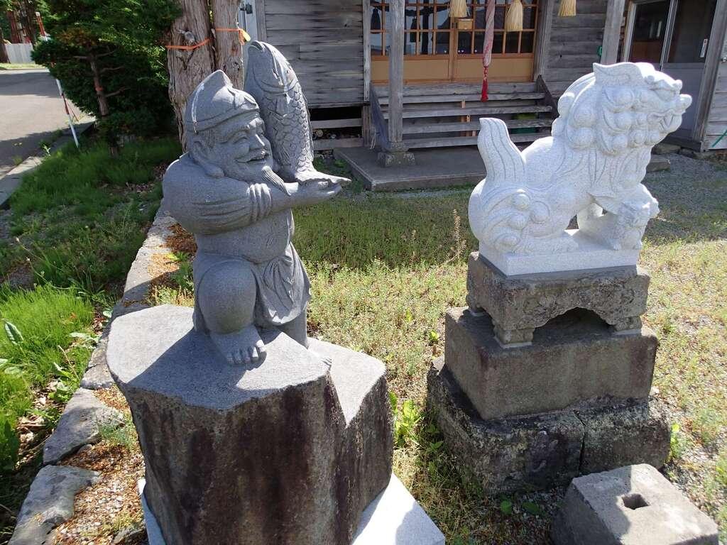 恵比須神社の狛犬