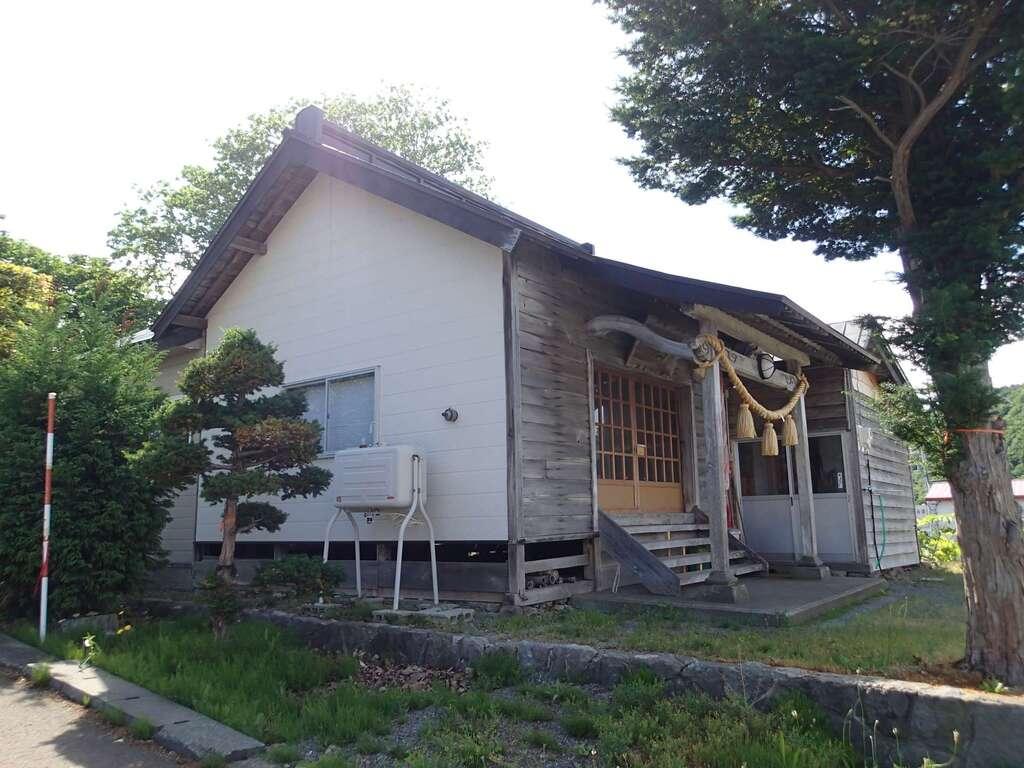恵比須神社の本殿