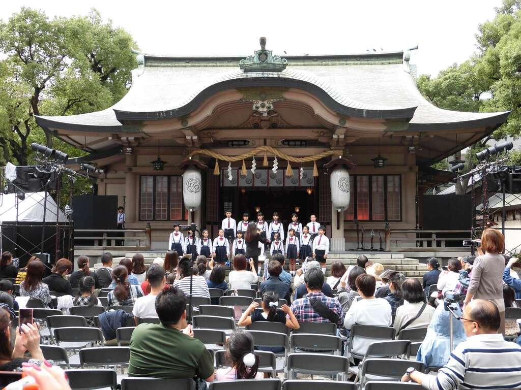 坐摩神社のお祭り