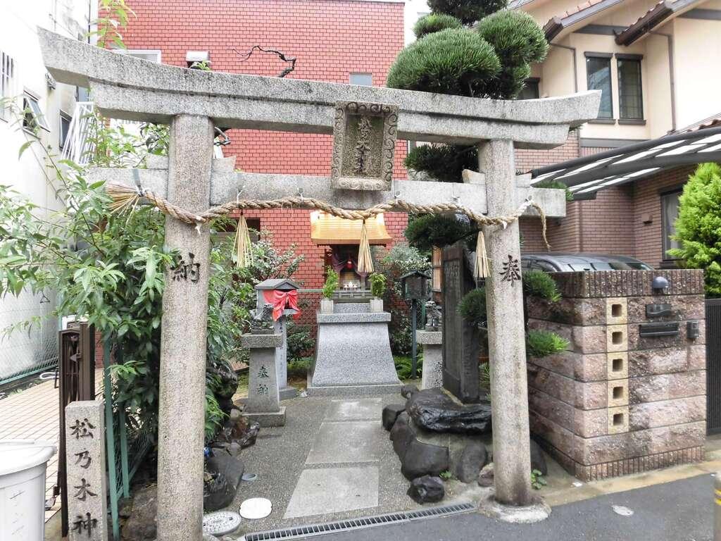 松乃木神社の鳥居