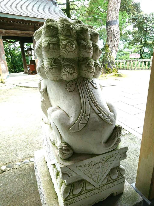 唐澤山神社の狛犬