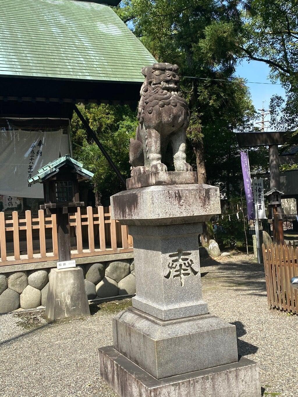 若宮神明社の狛犬