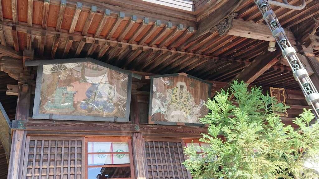 飽波神社の絵馬