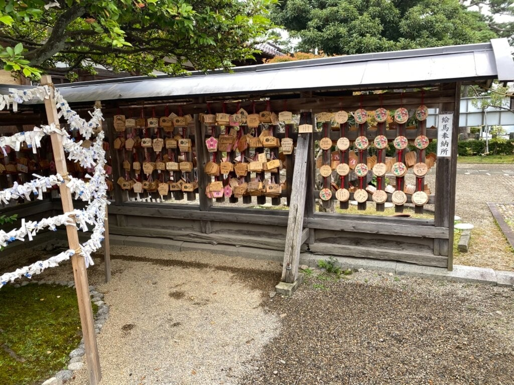 荘内神社の絵馬