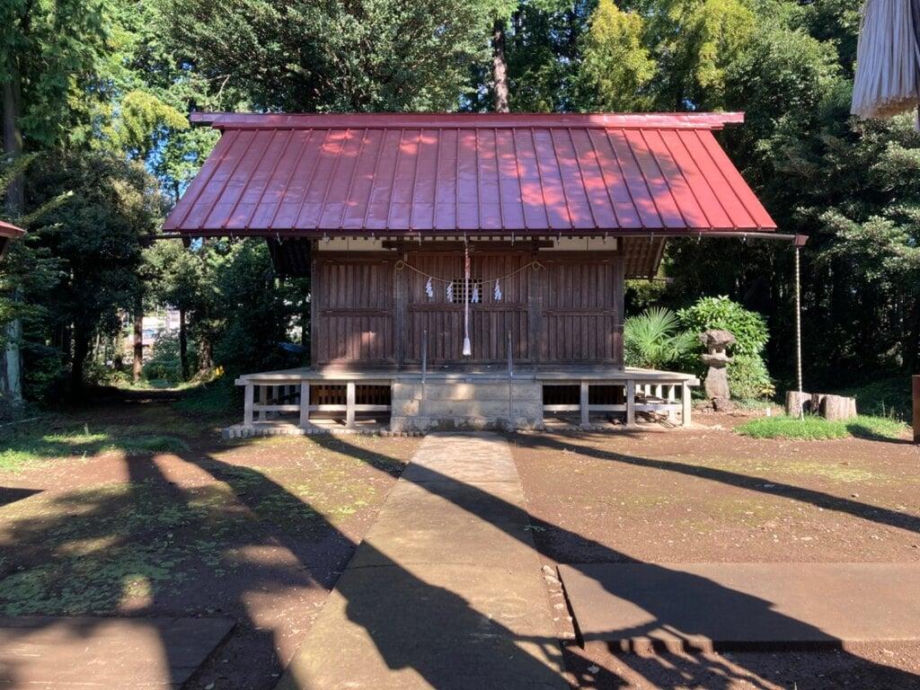 白子神社の本殿