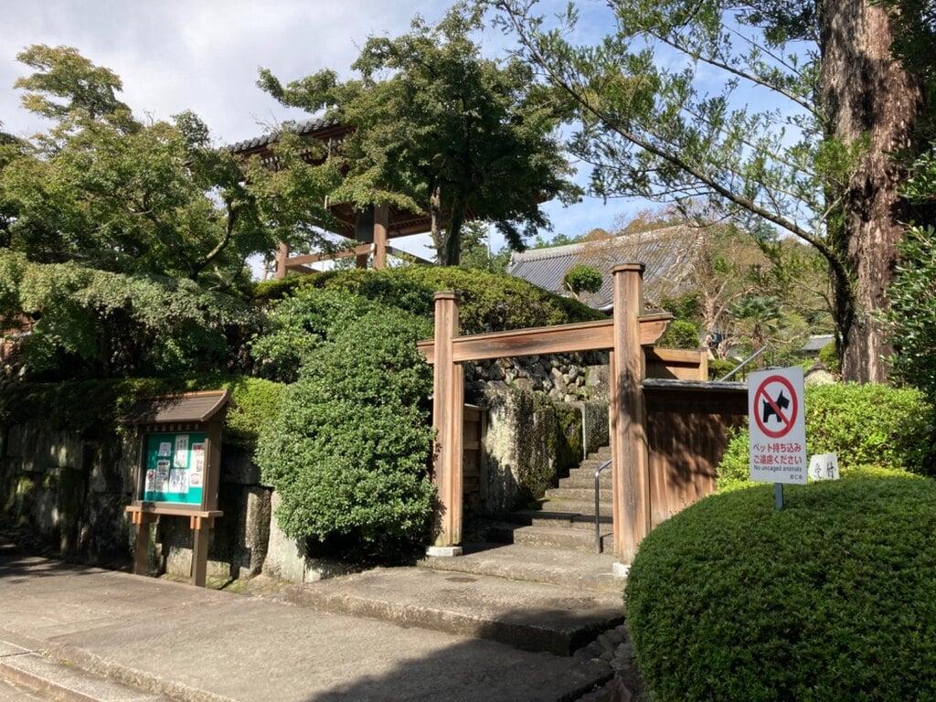 能仁寺の鳥居