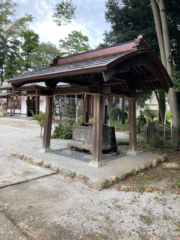 諏訪八幡神社の手水