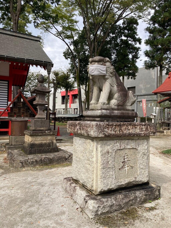 諏訪八幡神社の狛犬
