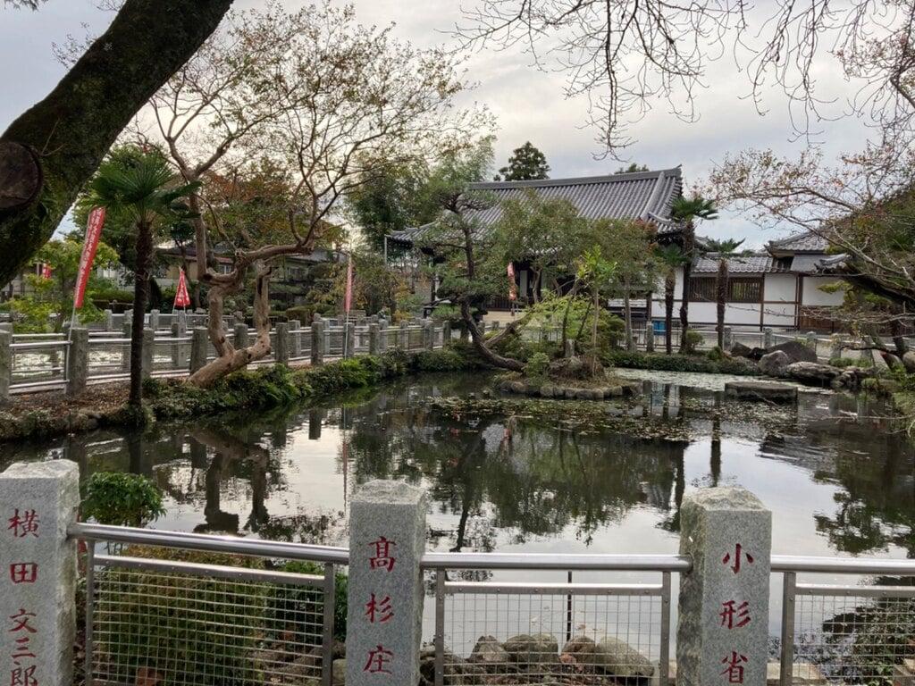 圓照寺の庭園