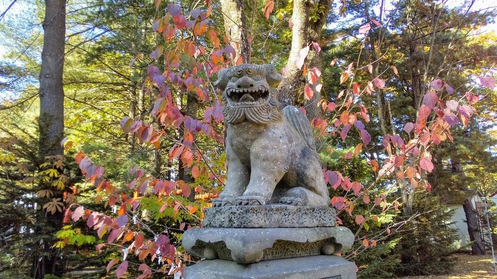 芽室神社の狛犬