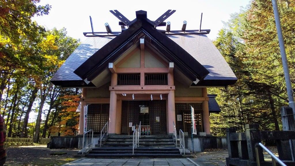 芽室神社の本殿